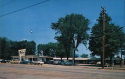 Lone Pine Motel and Restaurant Postcard