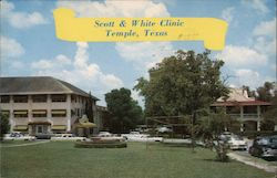 Scott & White Clinic Postcard