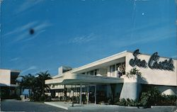 Sea Castle Motel Postcard