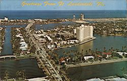 Greetings from Ft. Lauderdale, Fla. Postcard