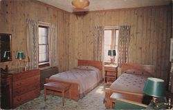 Interior of One of the Guest Houses, Pere Marquette State Park