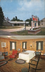 Village Motel Postcard