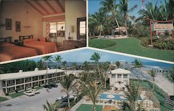 The Beachcomber Apartment Motel and Restaurant Postcard