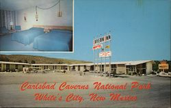 Cavern Inn Motel Postcard