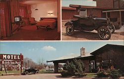 Hitch-Inn Post Motel Postcard