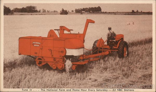 Allis-Chalmers Model 60 All-Crop Harvester Advertising