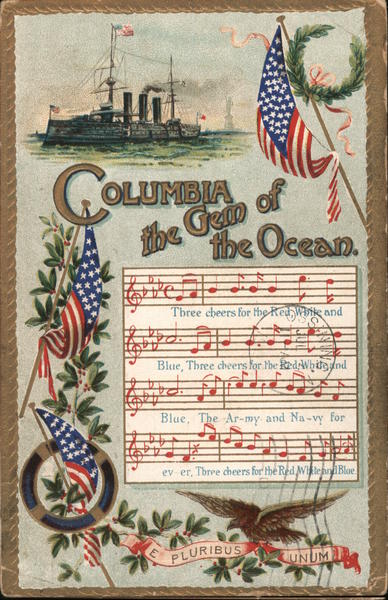 Columbia of the Gem of the Ocean Patriotic