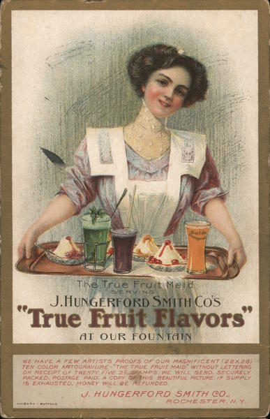 J. Hungerford Smith Co.'s True Fruit Flavors at Our Fountain