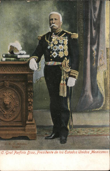 Porfirio Diaz, President of the United Mexican States