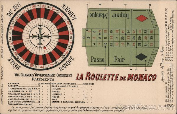 The Roulette of Monaco Casinos & Gambling