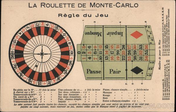 La Roulette De Monte-Carlo Casinos & Gambling