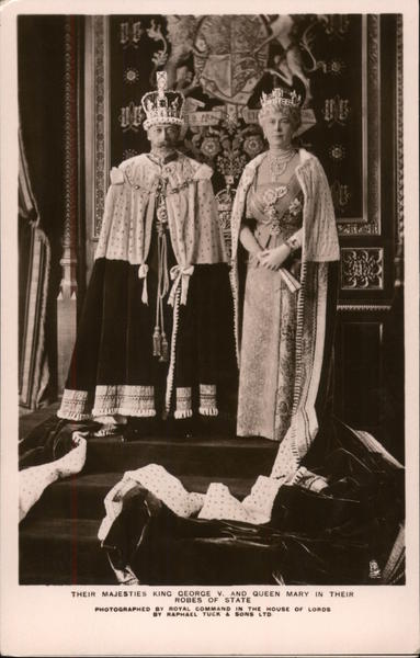 King George v and Queen Mary Royalty