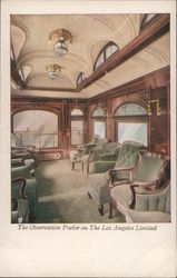 The Observation Parlor on The Los Angeles Limited