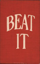 """Beat It"" in Red & White"