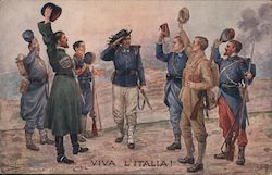 Viva L'Italia! Allied Soldiers Gathering