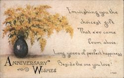Anniversary Wishes Postcard