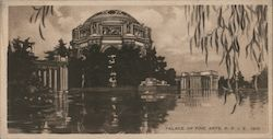 Palace of Fine Arts, Pan Pacific International Exposition, 1915