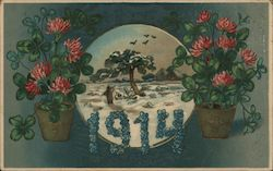 Norway 1914 with Flowers