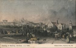 Opening of railway, Hexham, A.D. 1836