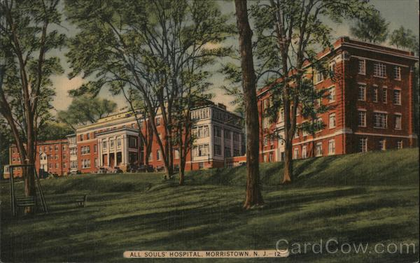 All Souls' Hospital Morristown New Jersey
