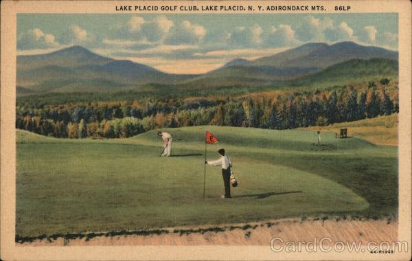 Lake Placid Golf Club, Adirondack Mountains New York