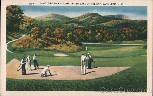 Lake Lure Golf Course, In the Land of the Sky North Carolina