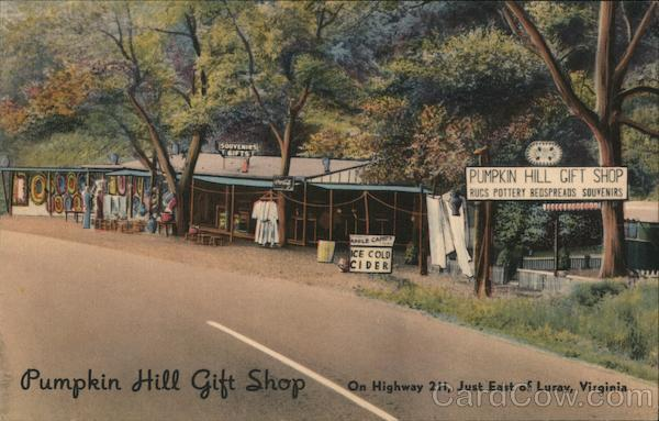 Pumpkin Hill Gift Shop Luray Virginia
