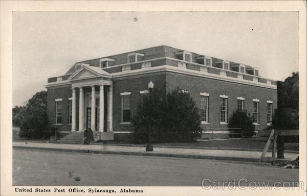 United States Post Office Sylacauga Alabama