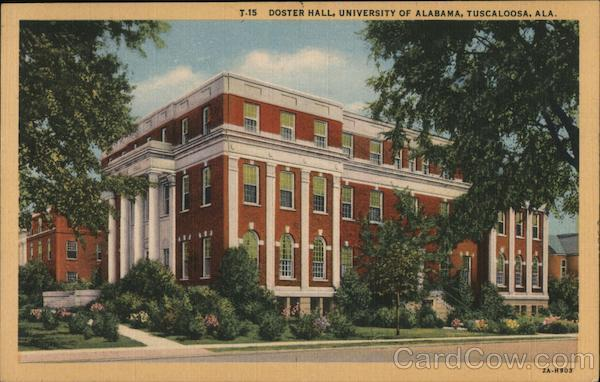 Doster Hall, University of Alabama Tuscaloosa