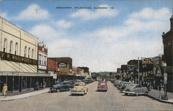 Broadway Sylacauga Alabama