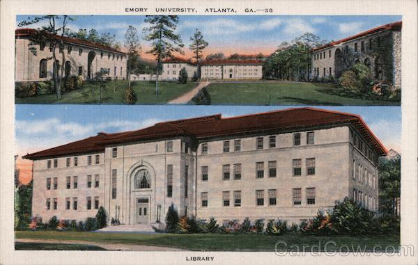 Emory University Atlanta Georgia