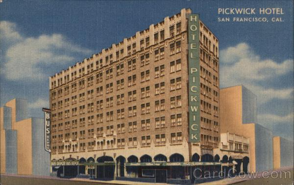 Pickwick Hotel San Francisco California