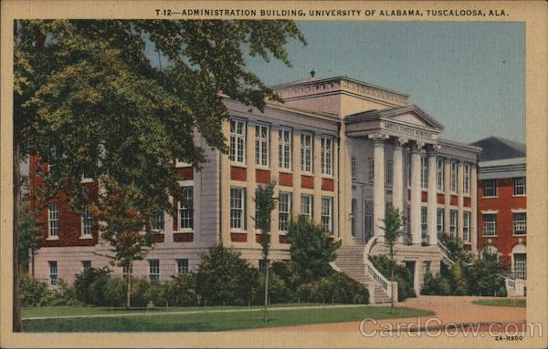 Administration Building, University of Alabama Tuscaloosa