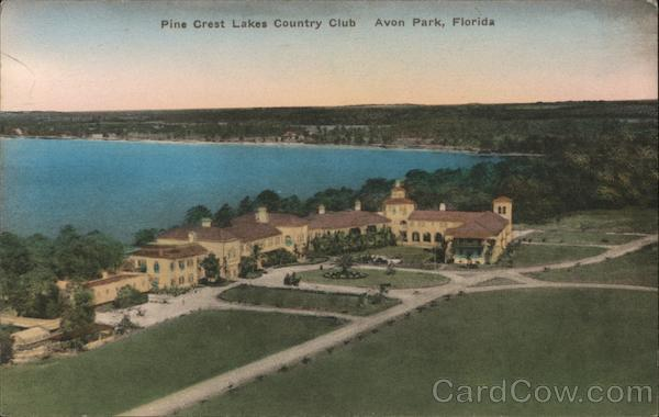 Pine Crest Lakes Country Club Avon Park Florida