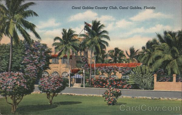 Coral Gables Country Club Florida