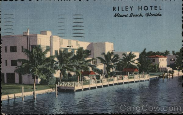Riley Hotel Miami Beach Florida