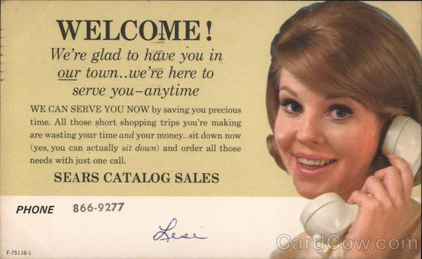 Sears Catalog Sales Advertising