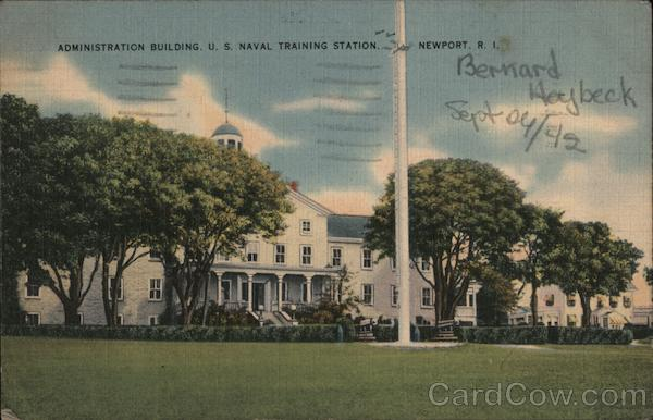 Administration Building, U.S. Naval Training Station Newport Rhode Island