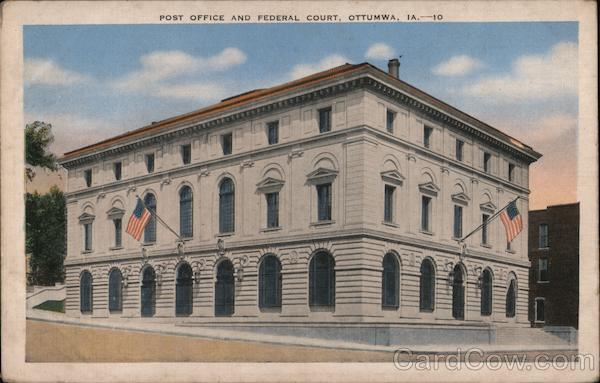 Post Office and Federal Court Ottumwa Iowa