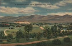 Presidential Range and Mt. Washington Hotel