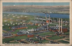 Refinery of Mid-Continent Petroleum Corporation