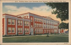 Training School, East Tennessee State Teacher's College Postcard