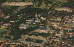 Air View of University of California Showing Memorial Stadium and Edwards Field