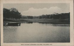 Golf Course at Stephens College Postcard