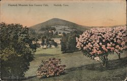 Haystack Mountain from Country Club Postcard