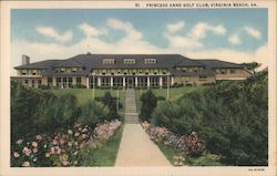 Princess Anne Golf Club Postcard