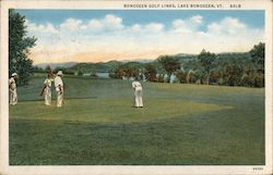 Bomoseen Golf Links Postcard