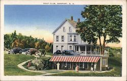 Golf Club Postcard