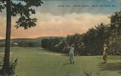 Sixth Hole, White Course Postcard