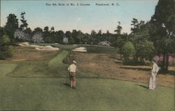 The 9th Hole of No.2 Course